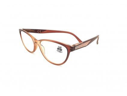 Dioptrické brýle SV2024/ +1,00 s flexem brown2