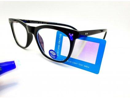 SeeVision Brýle na počítač BOX LG0804+tester proti modrému světlu