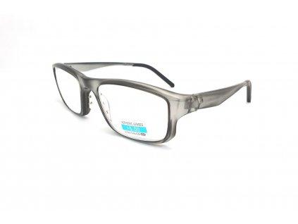 Dioptrické brýle na čtení P2.08 +5,00 GREY