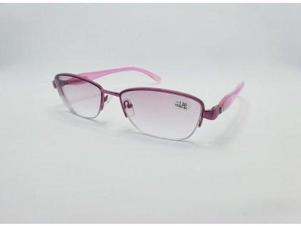Dioptrické brýle na krátkozrakost VISTA 2190/ -1,50 ZATMAVENÉ DO RŮŽOVÁ