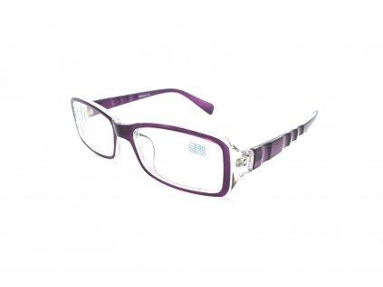 Dioptrické brýle 283 / -4,00 violet