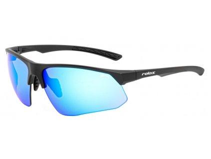 SPORTOVNÍ  SLUNEČNÍ  BRÝLE RELAX WIRRAL R5408D zrcadlová modrá čočká