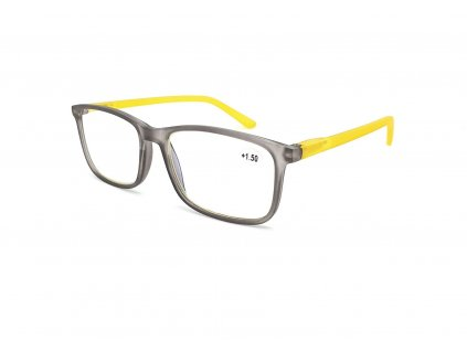 Brýle na počítač IDENTITY MC2172B /+0,00 grey/yellow