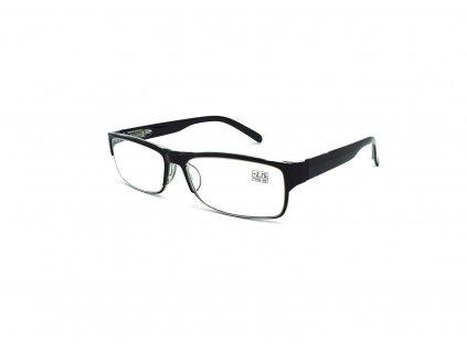 Dioptrické brýle 5016 / +4,00 černé flex