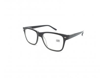 Dioptrické brýle 2074 / +1,75 černé flex