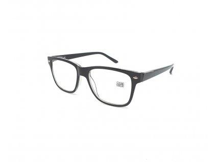 Dioptrické brýle 2074 / +2,25 černé flex