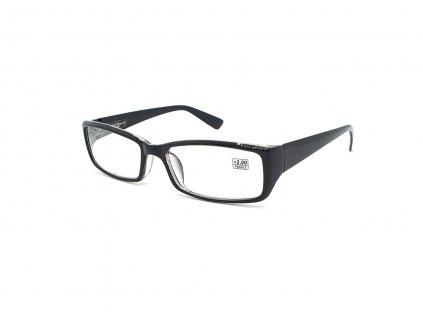 Dioptrické brýle 5003 / +0,50 černé flex