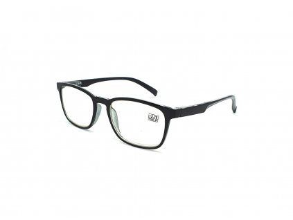 Dioptrické brýle 6339 / +4,00 černé flex