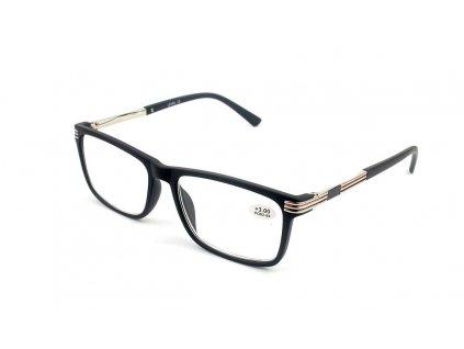 Dioptrické brýle Level 1703S-C2 / +5,00 black