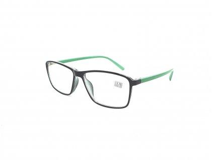 Dioptrické brýle 17218 / +2,25 green