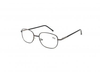 Dioptrické brýle 804/ +0,75 s flexem black