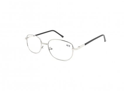Dioptrické brýle 804/ +3,75 s flexem silver