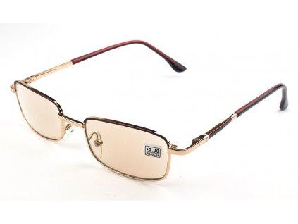 Samozabarvovací dioptrické brýle 7069 vakko SKLO +3,50