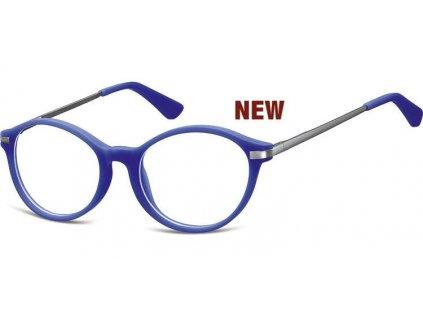 SUNOPTIC Dětské brýlové obroučky Montana AK46E modrá