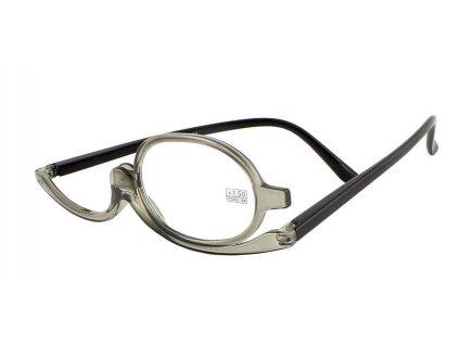 Dioptrické a kosmetické brýle /+1,75 šedé