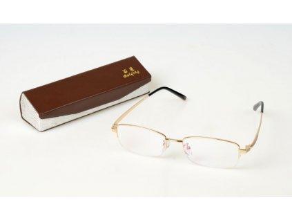 Dioptrické brýle BAIQING 6619 +2,50 otevřené dole