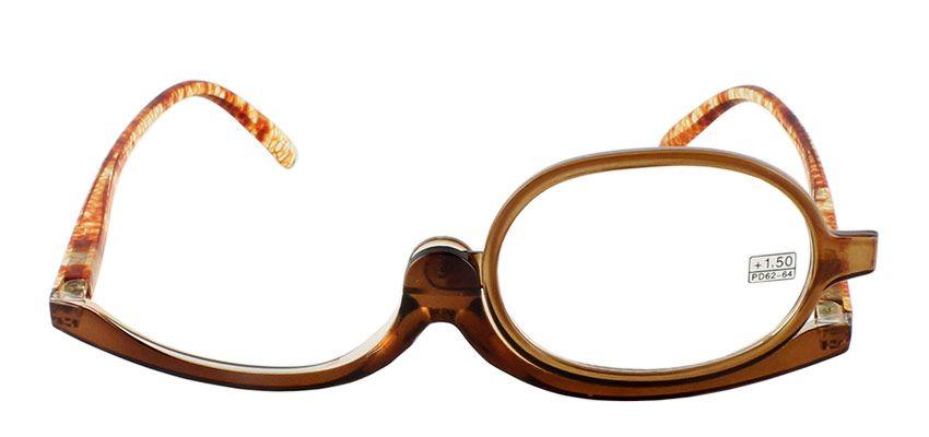 Dioptrické a kosmetické brýle /+1,50 hnědé