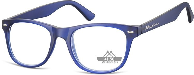 MONTANA EYEWEAR Dioptrické brýle MR67C BLUE +2,00