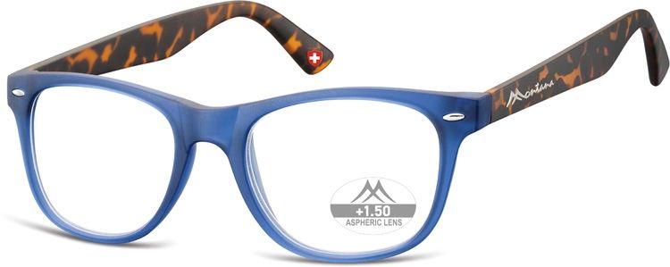 MONTANA EYEWEAR Dioptrické brýle MR67H BLUE +3,00