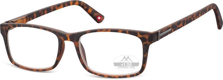 MONTANA EYEWEAR Dioptrické brýle Lihhtweight MR73A BROWN+3,50