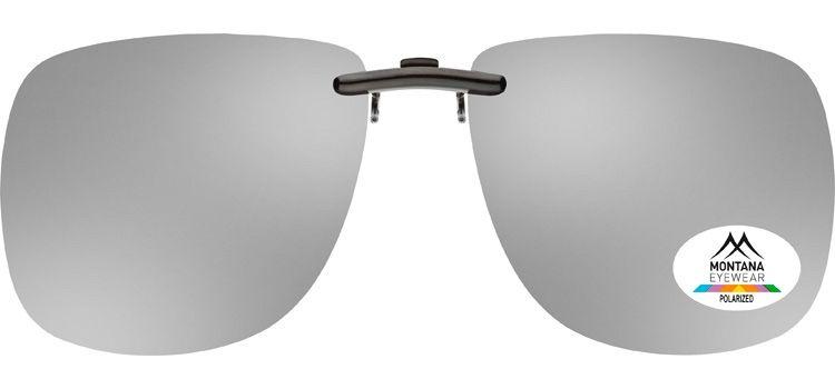MONTANA EYEWEAR Polarizační KLIP NA BRÝLE C13 zrcadlová stříbrná čočka