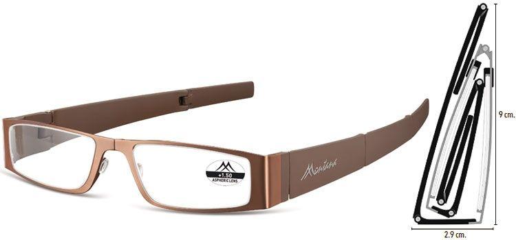 MONTANA EYEWEAR SKLÁDACÍ dioptrické brýle MR26C +2,00