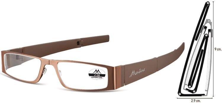MONTANA EYEWEAR SKLÁDACÍ dioptrické brýle MR26C +3,00