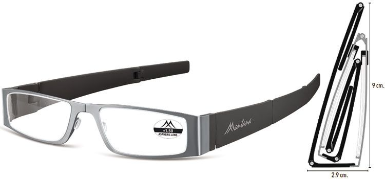 MONTANA EYEWEAR SKLÁDACÍ dioptrické brýle MR26A +2,50