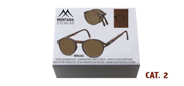 MONTANA EYEWEAR SKLÁDACÍ dioptrické brýle BOX66AS+2,50