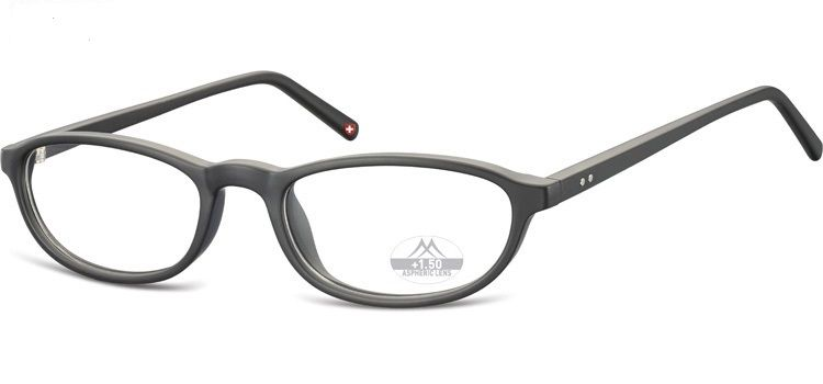 MONTANA EYEWEAR Dioptrické brýle MR57 BLACK+1,50