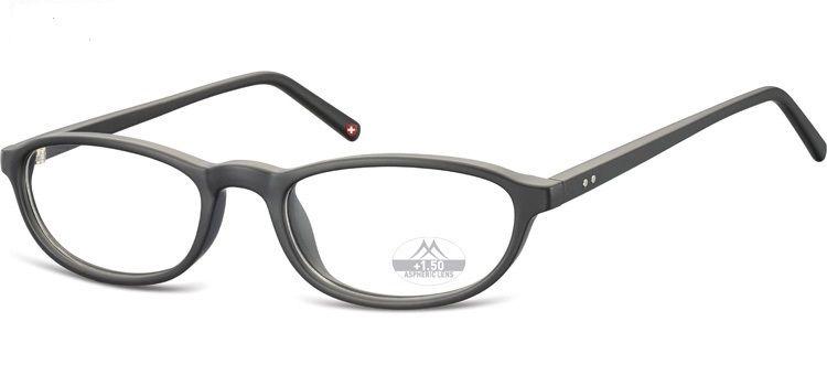 MONTANA EYEWEAR Dioptrické brýle MR57 BLACK+2,50