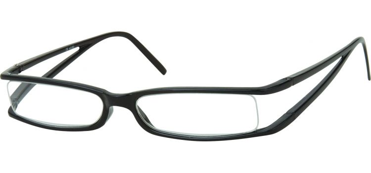 MONTANA EYEWEAR Dioptrické brýle R13B Black +2,50