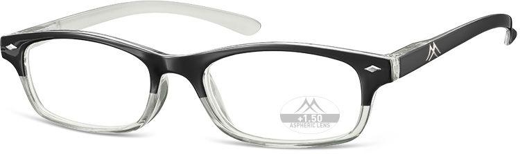 MONTANA EYEWEAR Dioptrické brýle R20 Black/ +2,50