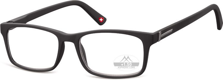 MONTANA EYEWEAR Dioptrické brýle HMR73 BLACK+2,50 flex