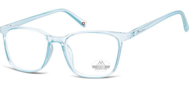 MONTANA EYEWEAR Dioptrické brýle HMR56A LIGHT BLUE/ +3,50
