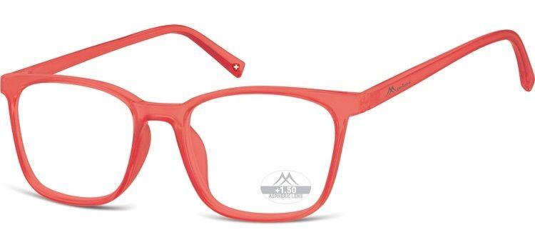 MONTANA EYEWEAR Dioptrické brýle HMR56D RED/ +1,50