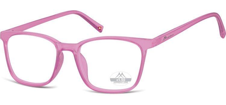 MONTANA EYEWEAR Dioptrické brýle HMR56F PINK/ +1,50