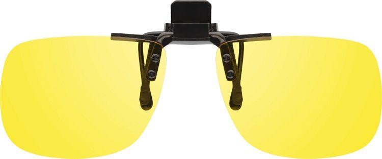 MONTANA EYEWEAR KLIP NA BRÝLE 1970C se žlutou čočkou na noční vidění pro řidiče