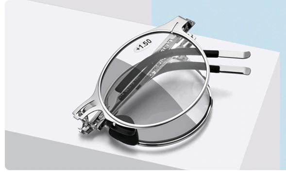 Samozabarvovací skládací dioptrické brýle FON +2,00