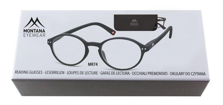 MONTANA EYEWEAR Dioptrické brýle BOX74 +3,00 flex