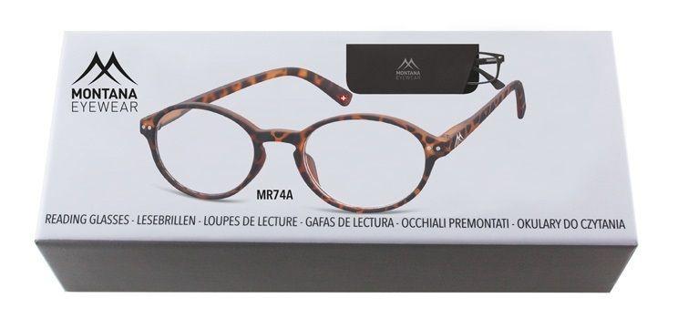 MONTANA EYEWEAR Dioptrické brýle BOX74A +1,00 flex