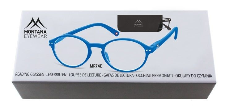 MONTANA EYEWEAR Dioptrické brýle BOX74E +3,00 flex