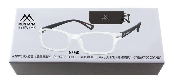 MONTANA EYEWEAR Dioptrické brýle BOX76D +2,00