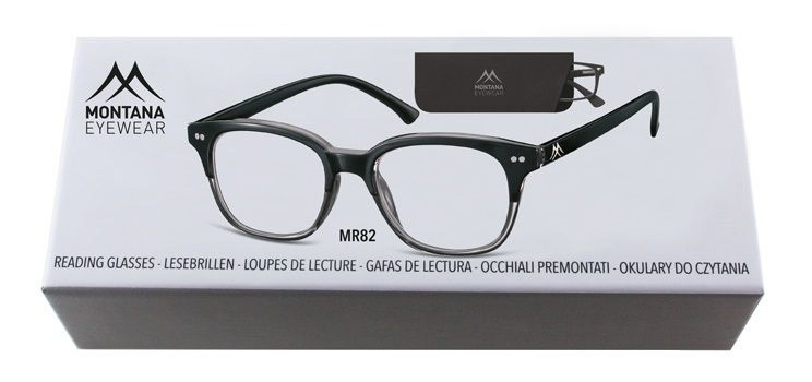 MONTANA EYEWEAR Dioptrické brýle BOX82 +1,00 Flex
