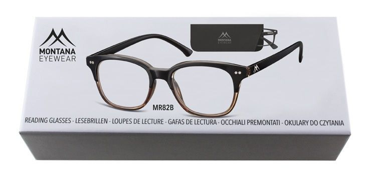 MONTANA EYEWEAR Dioptrické brýle BOX82B +2,00 Flex