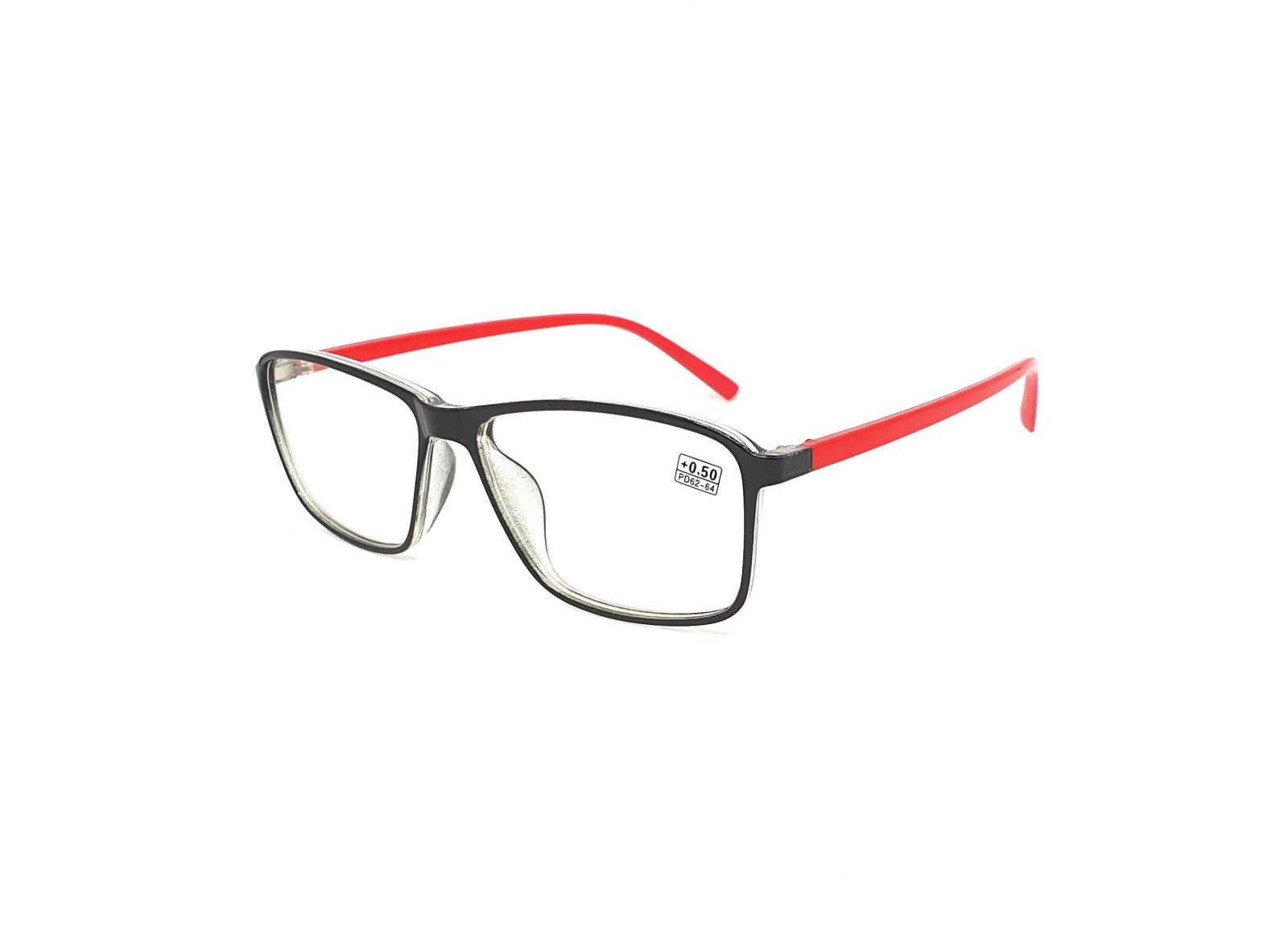 Dioptrické brýle 17218 / +1,25 red