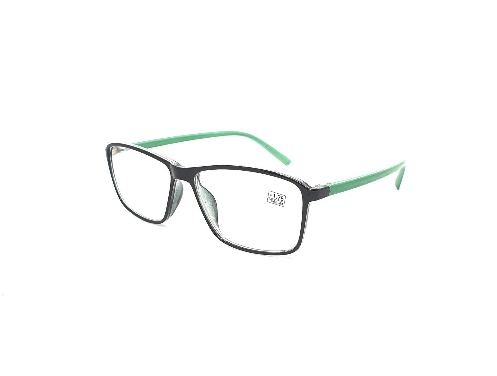 Dioptrické brýle 17218 / +2,00 green