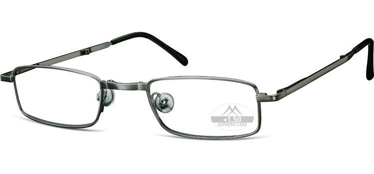 MONTANA EYEWEAR SKLÁDACÍ dioptrické brýle RF25A SILVER +3,00