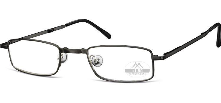 MONTANA EYEWEAR SKLÁDACÍ dioptrické brýle RF25B BLACK+1,00