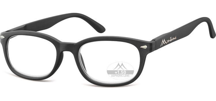 MONTANA EYEWEAR Dioptrické brýle Lihhtweight MR70 BLACK+2,50